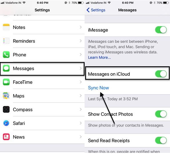 Fix iOS 13/12/iOS 12 4 Messages With iCloud Not Working on