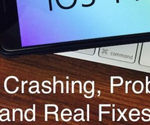 1 iPad and iPhone apps crashing on Start or Open