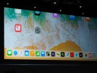 1 iPad dock Manage on iPad with iOS 11