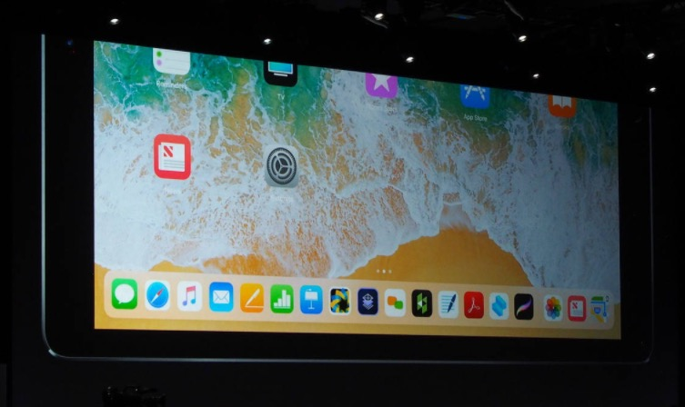 1 iPad dock Manage on iPad with iOS 11