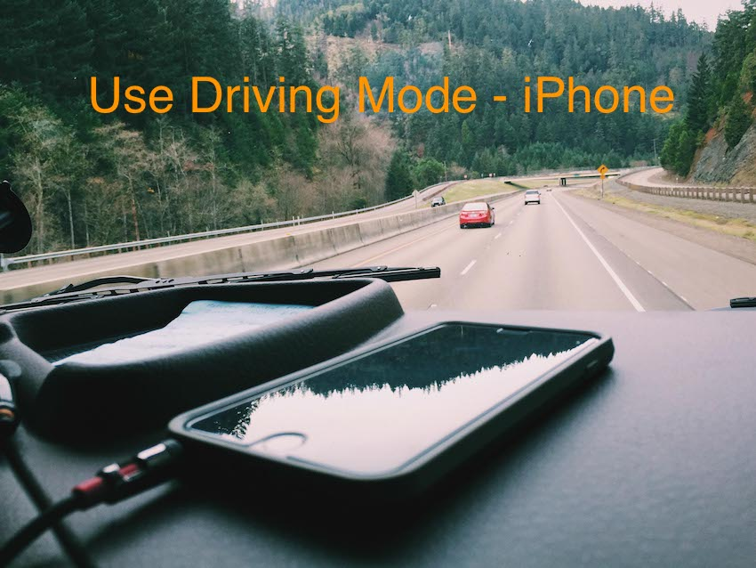 Use Do not Disturb while Driving in iOS 11 on iPhone and iPad