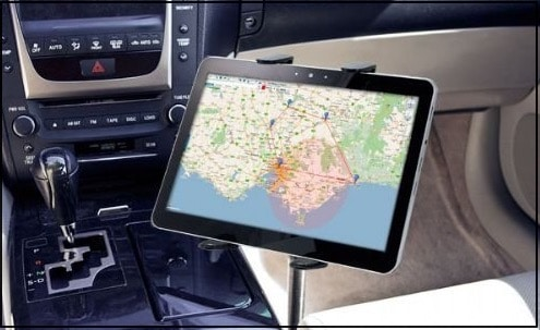 4 Jarv Car mount holder for wide screen iPad