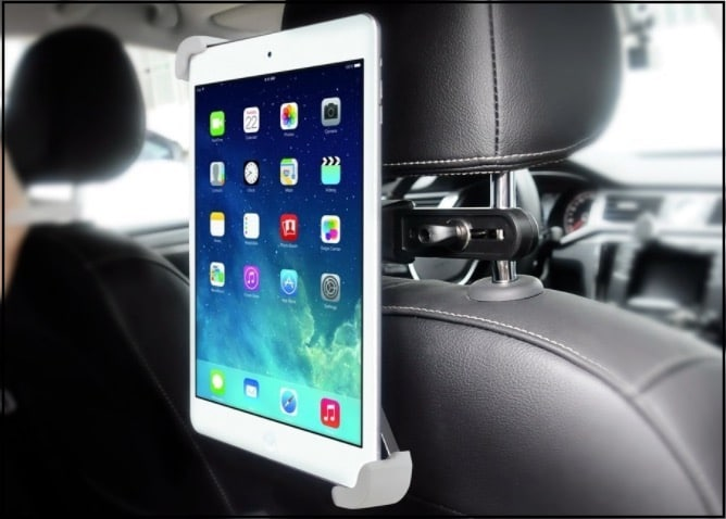 6 Backseat car mount holder for iPad pro 10.5 inch