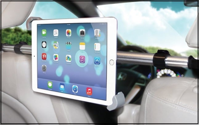7 Headrest iPad Pro car mount holder