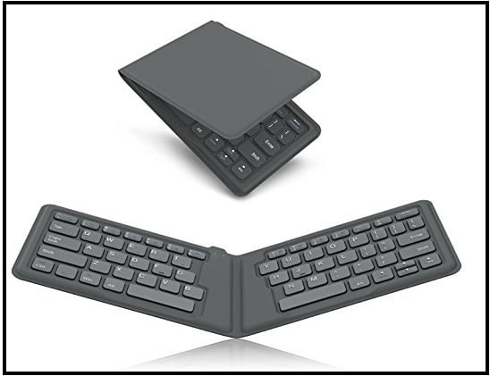 7 MoKo Foldable iPad Pro Keyboard