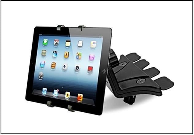 "Universal Adjust Car CD Slot Mount Holder for 7/""-11/"" iPad//Galaxy Tab//Tablet//GPS"