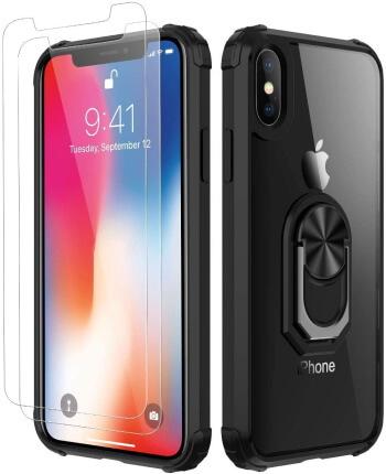 Amuoc Air Cushion iPhone XS Max Military Grade Phone Case