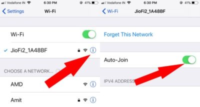1 Auto Join Wi-Fi network on iPhone