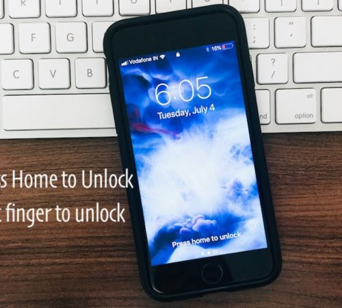 1 Lock screen not working on iPhone with Touch ID