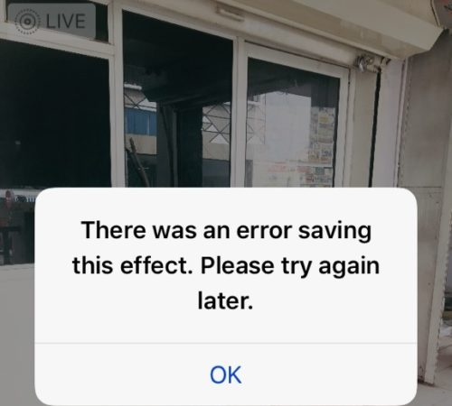 1 Unable to Save Live Photo in to Bounce Effect not working on iPhone and iPad with iOS 11