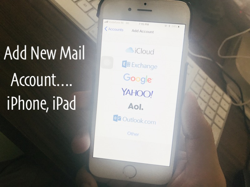 How to set up aol email on iphone 7 plus