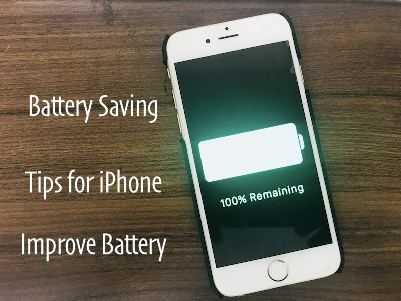 14 Increase Battery life on iOS 11 from iPhone and iPad