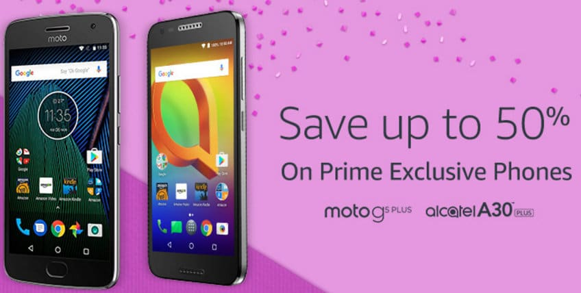 Amazon Prime Day 2017 Deals in USA on Smartphone Exclusive Phones