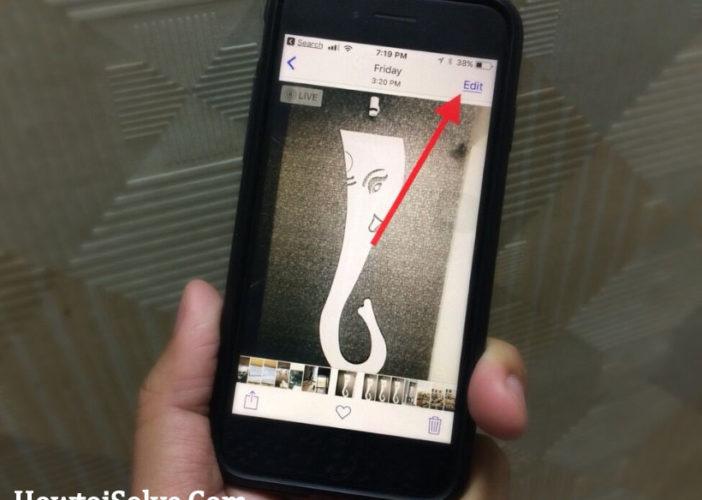 Edit Live Photos iOS 11 on iPhone iPad Pro