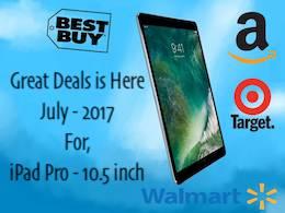 iPad pro 10.5 deals