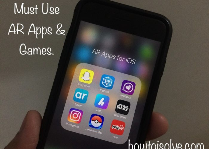 1 Best AR apps and Games for iPhone in iOS 11