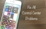 1 Control Center problems and fix in iOS 11