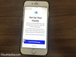 iOS 12: How to Add a Family Member in Shared iCloud Storage Plan iPhone X/8/7/6S/SE & macOS