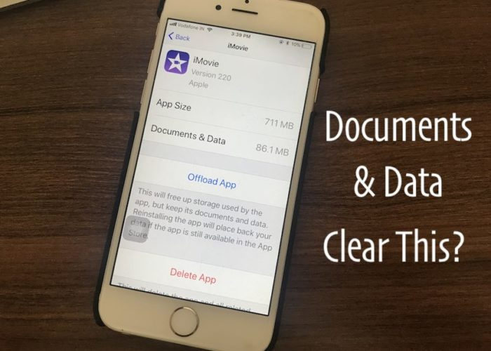 7 Clear Documents and Data on iPhone