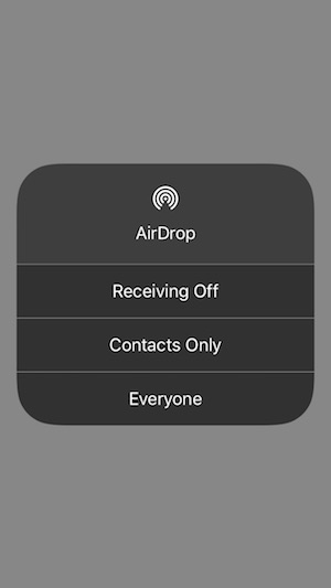 8 AirDrop Share from iPhone iPad or Mac