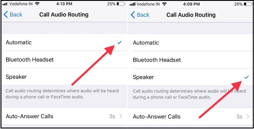 How to Auto call Answer iPhone directly turn on Speaker Phone mode