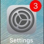 Tap Settings App on your iPhone