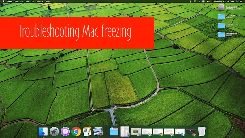 optimize Storage or Mac Freezing after update Mac