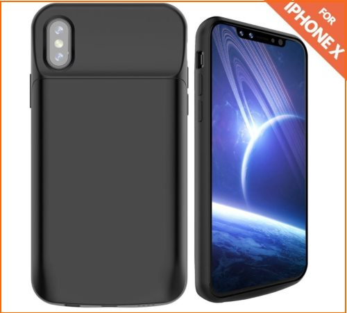 03 RUKY iPhone X Battery case in Deals