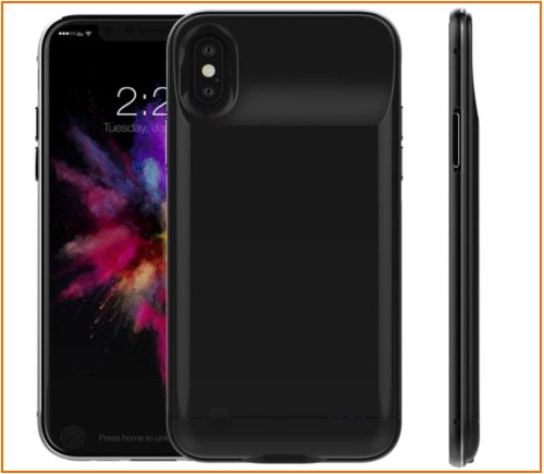 05 Tessera New iPhone X Battery case with high power capacity