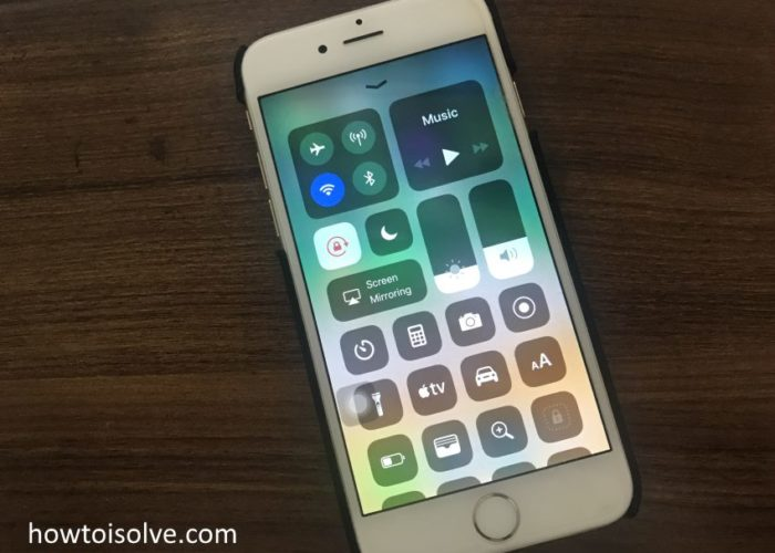 1 Change Brightness and Volume in iOS 11