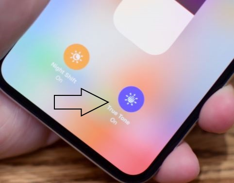 1 Enable True Tone Display on iPhone X
