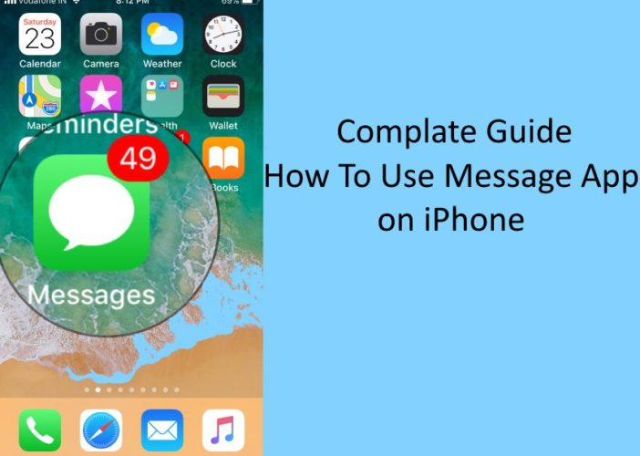 1 How to use Message app on iPhone