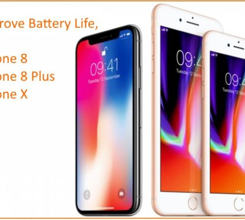 1 Improve Battery Life on iPhone 8 iPhone 8 Plus and iPhone X