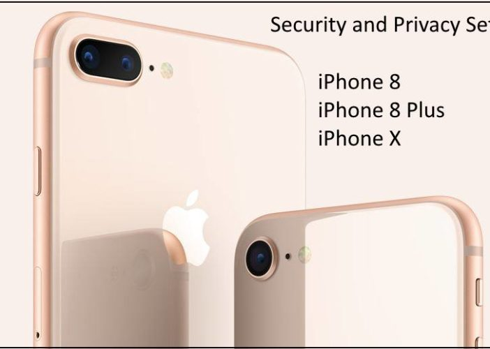 1 Security Privacy Settings for iPhone X iPhone 8 and iPhone 8 Plus