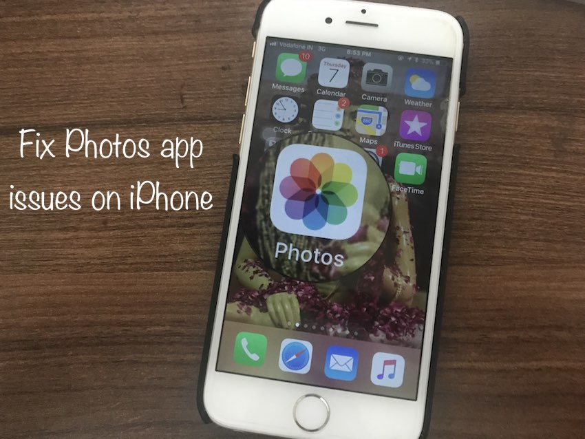1 iPhone photos Disappeared on iPhone