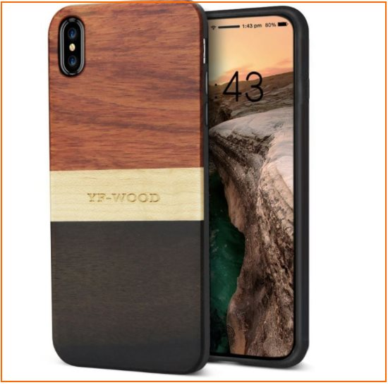 10 Original Wooden bumper case