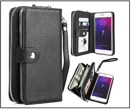 13 Detachable Folio Flip Case with Card Holder