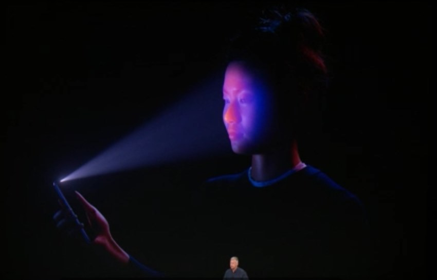 2 Detect Face in Night mode Face ID on iPhone X