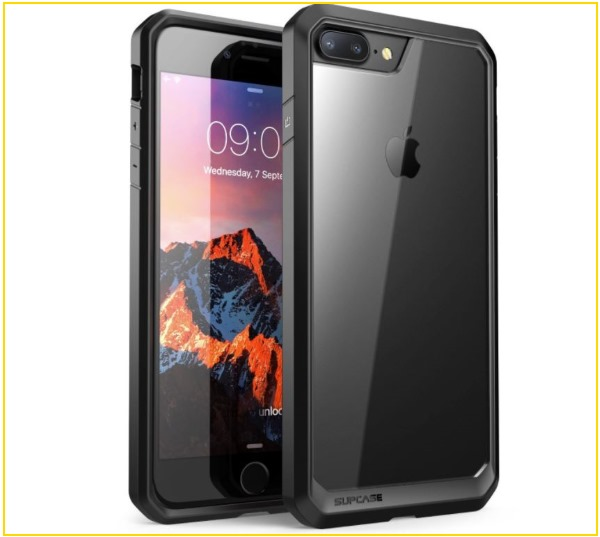 2 SUPCASE iPhone 8 Plus Clear Case