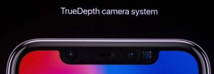 3 TrueDepth Camera System on iPhone X