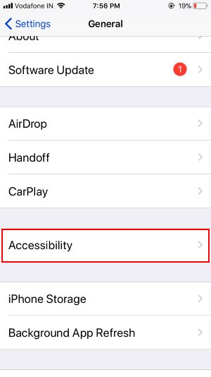 4 Accessibility Settings on iPhone in iOS 11
