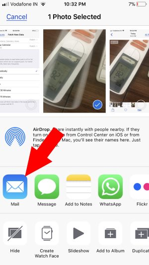 4 Send Live photo as Gifs in mail app on iPhone in iOS 11