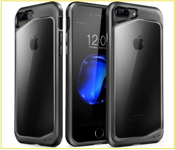 4 Yesgo Rugged iPhone 8 Plus clear case