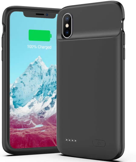4100mAh Slimmest iPhone X Battery Case