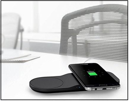 5 Samsung Wireless Charging pad for Apple iphone
