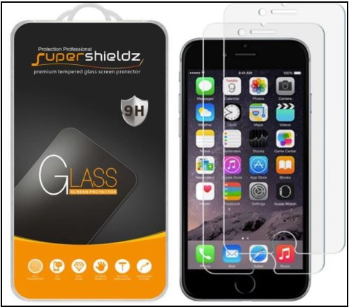5 Supershieldz Tempered Glass Protector