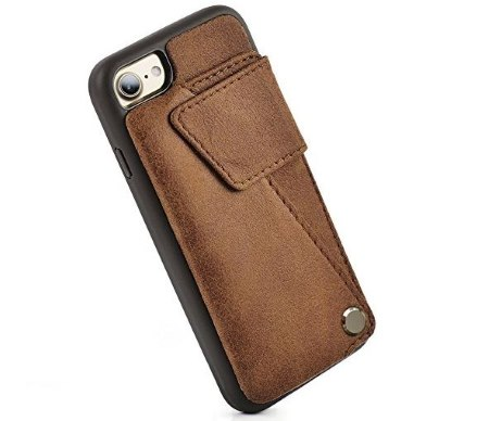 hot sale online c892e 8515f Best iPhone 8 Leather Case review in 2019: Slim,Drop Protection ...