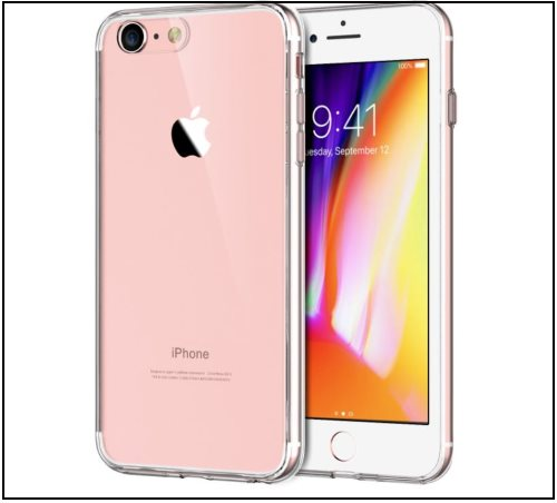 6 JETech iPhone 8 Clear case