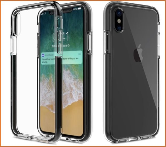 6 Moko Flexible iPhone X Bumper case