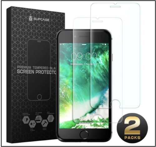 6 SUPCASE iPhone 8 Screen Protector